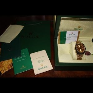 Men's Rolex Watch and box
